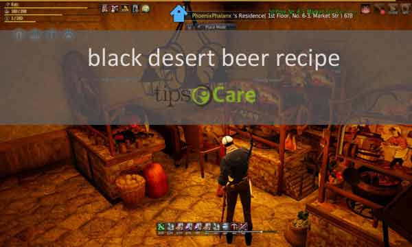 black desert beer recipe
